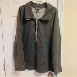 Eddie Bauer XL Tall XLT half zip Pull Over